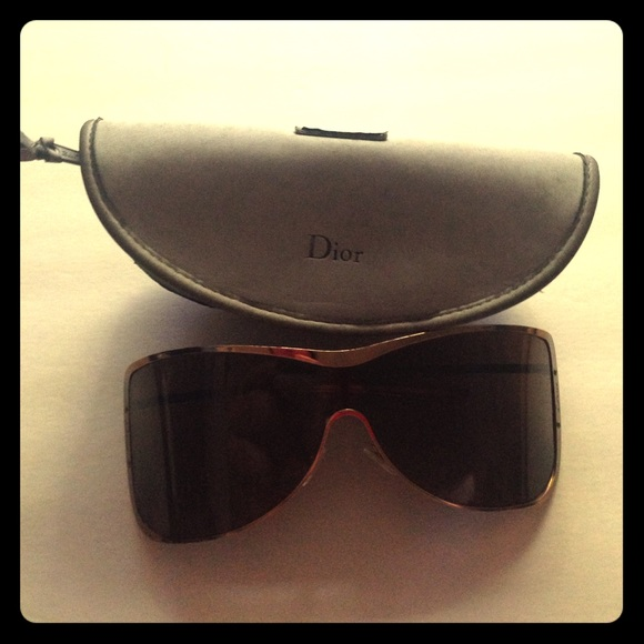 01f355658161 Christian Dior Shield Sunglasses On Poshmark