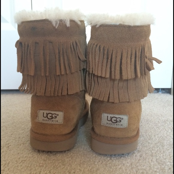 76% off UGG Other - Kids Fringe Uggs from Niah's closet on Poshmark