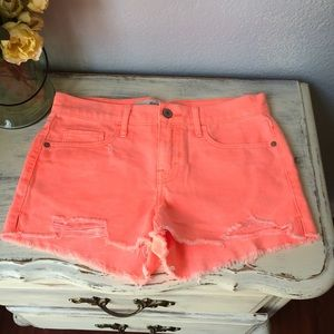 Abercrombie & Fitch Denim - NWOT Abercrombie & Fitch Neon Cut-Off Shorts