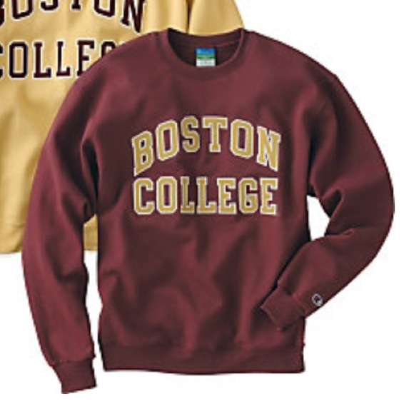 67% off Sweaters - BOSTON COLLEGE Crewneck Sweatshirt from ...
