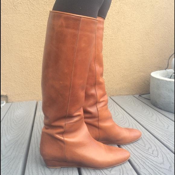 Loeffler Randall Leather Boots aEZwD