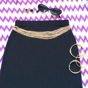 A. Byer Dresses & Skirts - A. Byer Classic Black Skirt
