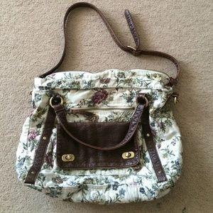 Forever 21 Floral Messenger Bag