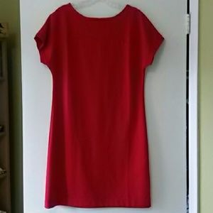 Red Old Navy dress