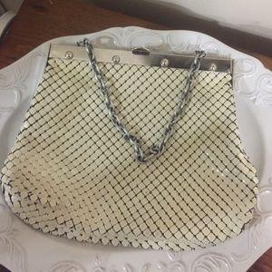 Whiting Davis vintage mesh purse