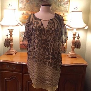 Chicos Black Label tunic