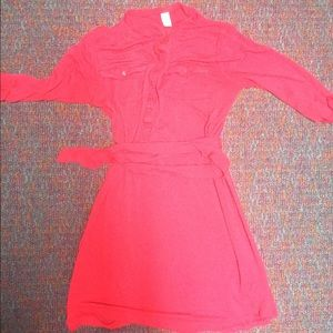 Old navy red work dress