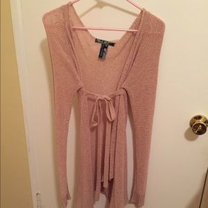 Love Stitch Sweaters - Love switch pink cardigan