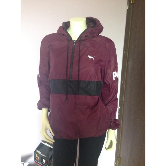 25% off PINK Victoria's Secret Outerwear - PINK Anorak (rain ...