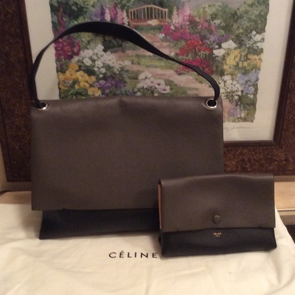 100% off Celine Handbags - Authentic Celine All Soft Tri-Color ...