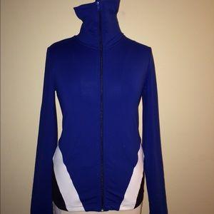 Sports jacket by Vivienne Tam