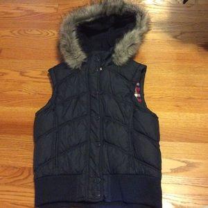 Faux Fur Puffy Vest