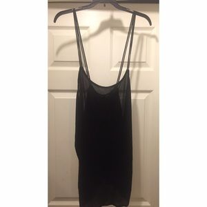 UO string tank top (silence + noise)