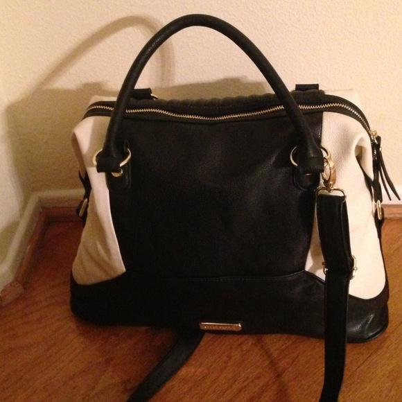 Steve Madden - Steve Madden NWT cream/black crossbody purse from ...