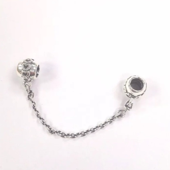 44 pandora jewelry pandora hearts silver safety