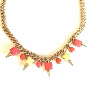 Neon jewelmint necklace