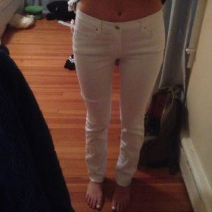 """81% off DKNY Pants - Dkny slim """"cotton leather"""" jeans from Chito's ..."""