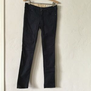 Rag & Bone navy blue skinny cotton pants jeans 27