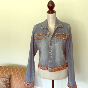 Perfect denim Jacket! Haven Bleu. Size L