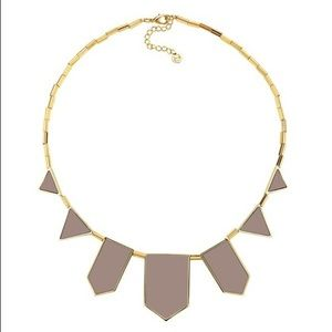NWT HOH Five Station necklace in leather khaki