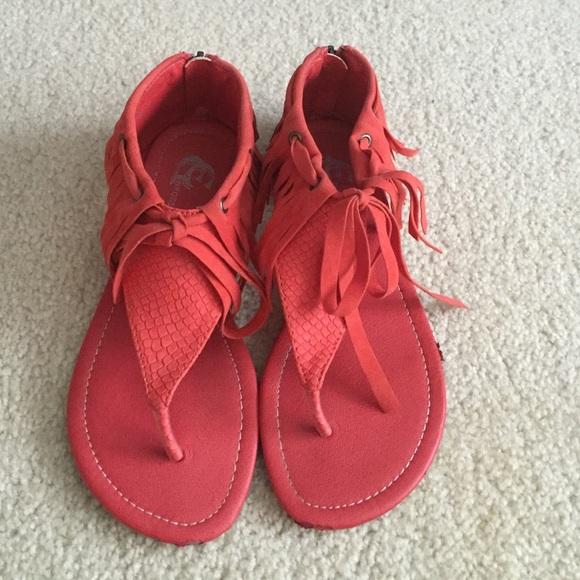 Shoes | Salmon Fringe ...