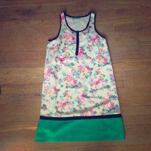 Pim + Larkin shift dress.