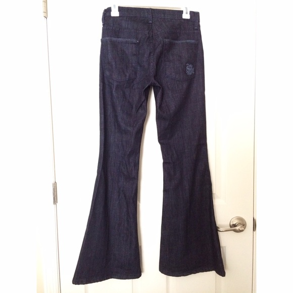 73% off 7 for all Mankind Denim - 7 for all mankind bell-bottom ...