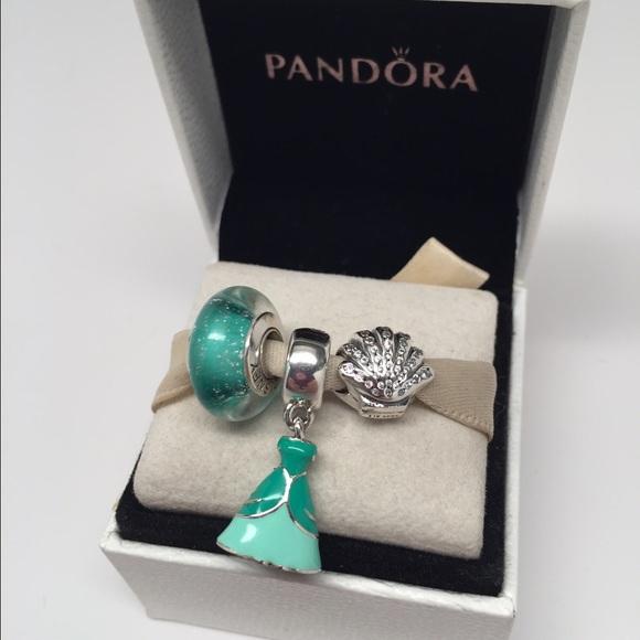 pandora ariel charms