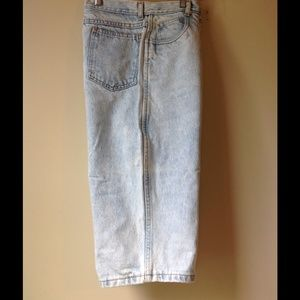 1990s RIO Denim Acid Wash Jean Crop Pants