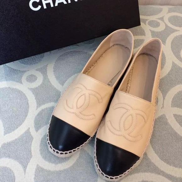 Auth. Brand new Chanel espadrilles sz37