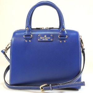  HP  Kate Spade cobalt blue purse Wellesley