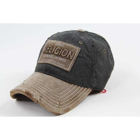 true religion true religion charcoal wool baseball cap from haley 39 s closet on poshmark. Black Bedroom Furniture Sets. Home Design Ideas