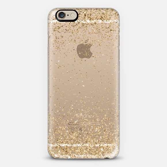 Casetify Accessories - Gold sparkly iPhone 6 phone case • Casetify b597a4eb9965
