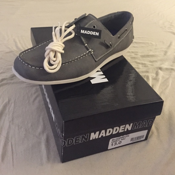 bdaeb068bf3 Steve Madden Men's M-Gameon Shoes in grey size 13 NWT