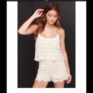 Fray Spirit Cream Romper ✌