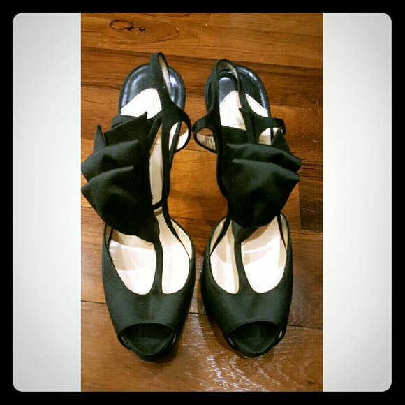f471e5fdd4e Christian Louboutin Shoes - Christian Louboutin Ernesta 120 Satin Bow T- Strap