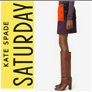 Kate Spade Saturday Front-to-back Mini Skirt