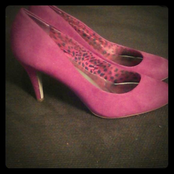 Pink Short Heels