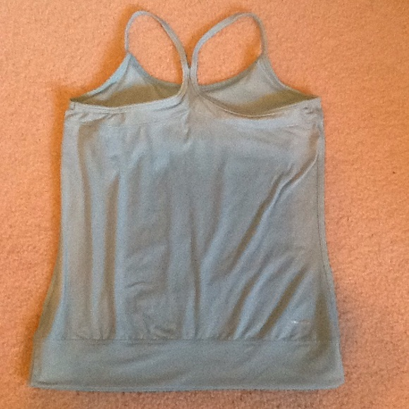 78 Off Adidas Tops Baby Blue Adidas Exercise Tank With