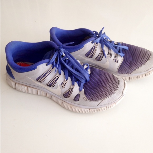 info for dea8c 0c2f7 Nike Shoes - Blue ombre Nike Free 5.0 size 8.5 Womens