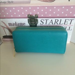 NEW turquoise wallet