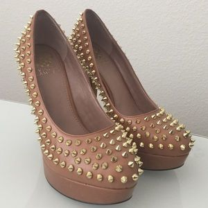 Vince Camuto Spiked Heels // 