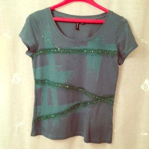 Relativity Tops - Relativity knit tee shirt