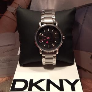 NWT DKNY Stainless Steel Bracelet watch