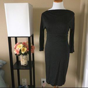 Ann Taylor Sheath Dress with 3/4 Sleeves