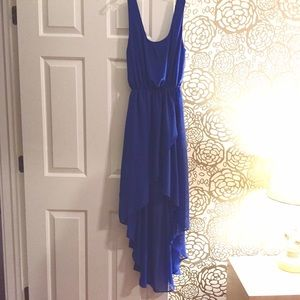 Sparkle & Fade Dresses & Skirts - Blue high-low dress