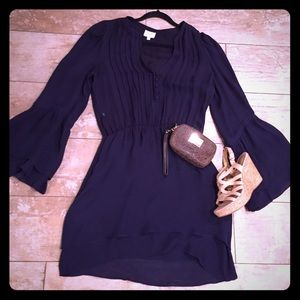 Navy Blue Parker* dress NWOT