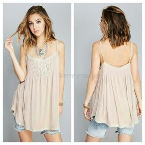 The MELODY Crochet Tunic Top