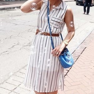 Dresses & Skirts - Stripped Shirt Dress