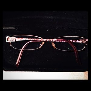 Guess Glasses by Marciano,Pink Leopard Detail NWOT